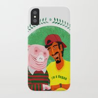 vegan iPhone & iPod Cases featuring Vegan by Bakal Evgeny