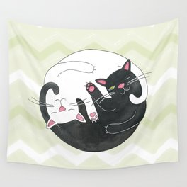 Cat Philosophy Wall Tapestry