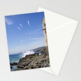 Pirate Tower Laguna Beach Stationery Cards