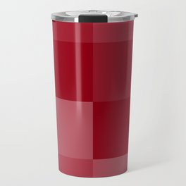 Four Shades of Red Square Travel Mug