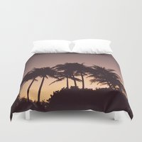 florida Duvet Covers featuring Florida by Whitney Retter