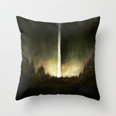 Search For Fire Throw Pillow