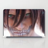 attack on titan iPad Cases featuring Titan by 3dbrooke