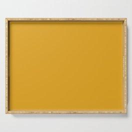 Color Mustard Serving Tray