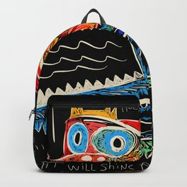 Hold on to your dreams Street Art Graffiti Backpack