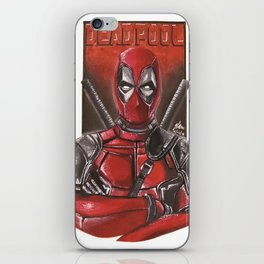 Dead pool iPhone Skin