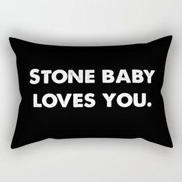 Stone Baby Loves You Rectangular Pillow