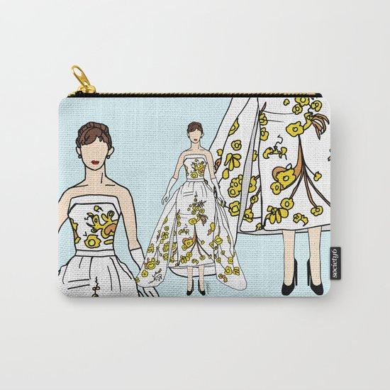 Audrey Hepburn Vintage Retro Fashion 2 Carry-All Pouch