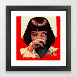 I said God Damn! God Damn Framed Art Print