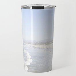 Santa Monica Beach Travel Mug