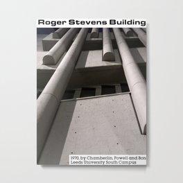 Concrete Leeds - Roger Stevens Building Metal Print
