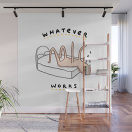 Honest Blob - Whatever Works Wall Mural