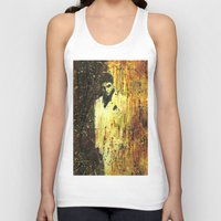 scarface Tank Tops featuring Tony Montana in Scarface by Miquel Cazanya