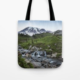 Edith Creek and Mount Rainier Tote Bag
