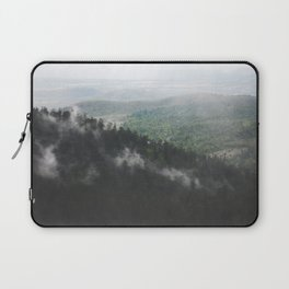 Clouds in the forest Laptop Sleeve