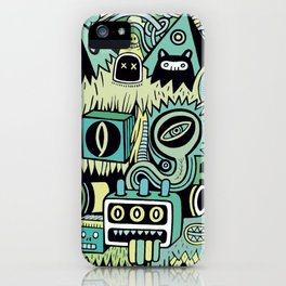 Double Je iPhone Case