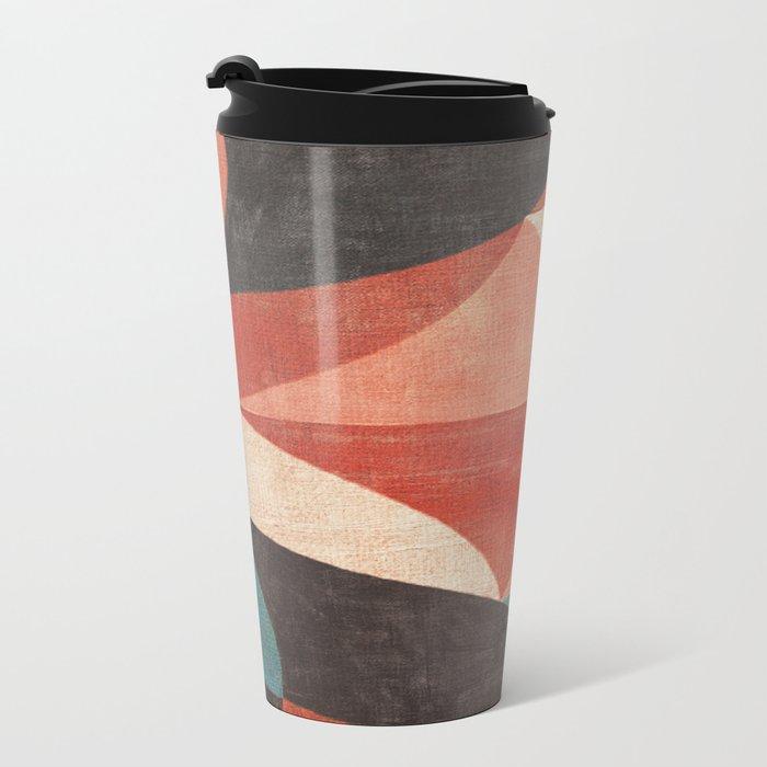 Toucan Beaks Metal Travel Mug