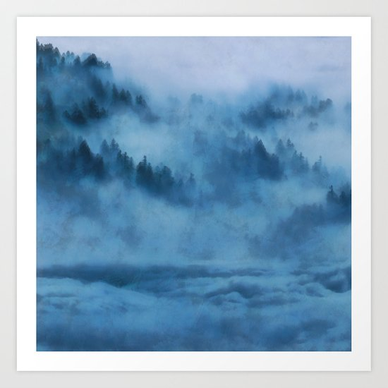 Forest Above the Clouds Art Print