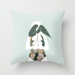 Simple offering Throw Pillow
