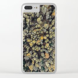 Forest of Life III. Clear iPhone Case