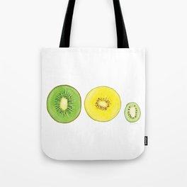 Three kiwi varieties Tote Bag