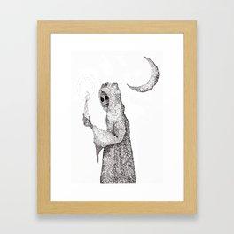 Grim Reaper Framed Art Print