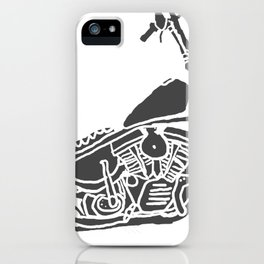Moto Machina iPhone Case