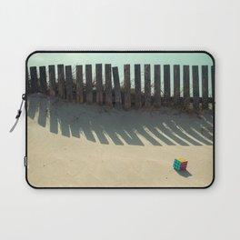 Rubik shading in the beach Laptop Sleeve