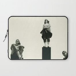 No Man is an Island Laptop Sleeve
