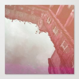 Curses: Pink Drink Canvas Print