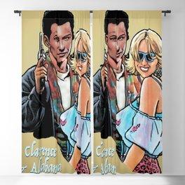 Tarantino True Romance: Clarence & Alabama Blackout Curtain