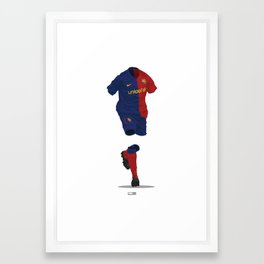 Barcelona 2008/09 - Champions League Winners Framed Art Print