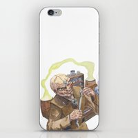 lab iPhone & iPod Skins featuring Necromancer's Lab by Sean Greenberg Illustration