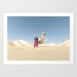 the dromedary Art Print