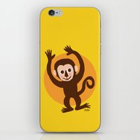 monkey island iPhone & iPod Skins featuring Monkey by BATKEI