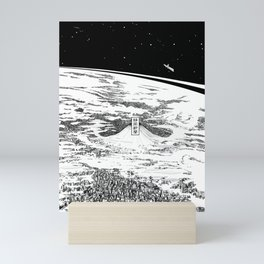 Space upon us Mini Art Print