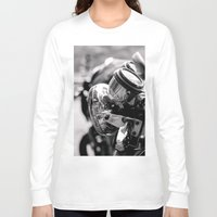 moto Long Sleeve T-shirts featuring moto by Farkas B. Szabina