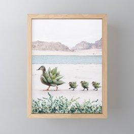Still Growing Framed Mini Art Print