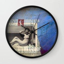 Nebraska Honey Wall Clock