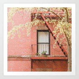 Brooklyn Fall Art Print