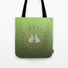 Carrots and Rabbits Tote Bag