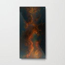Nebula Glow Cloud   Metal Print