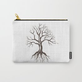 Bare tree Carry-All Pouch