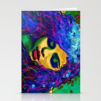 selena Stationery Cards featuring Selena (pop) by    Amy Anderson