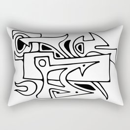Graffiti 1 Rectangular Pillow