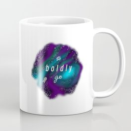 To Boldly Go Coffee Mug