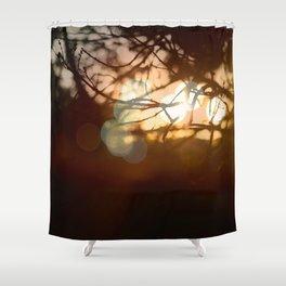 Invigorating Lights II Shower Curtain