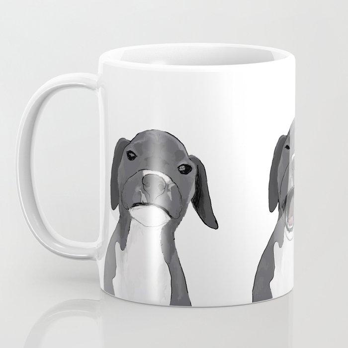Yawning Dog Coffee Mug