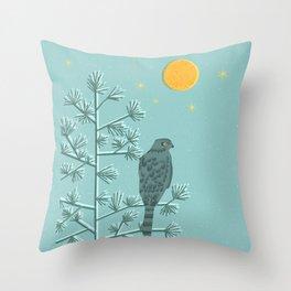 Night Watch Throw Pillow
