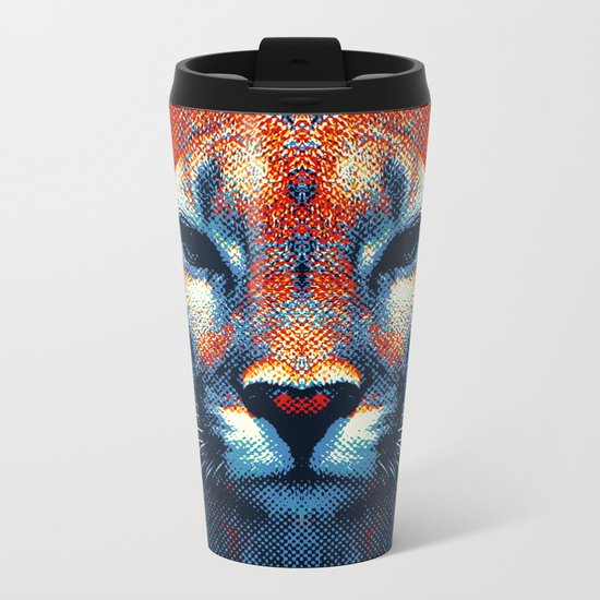 Puma -  Colorful Animals Metal Travel Mug